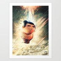 Rise of Sumo Art Print