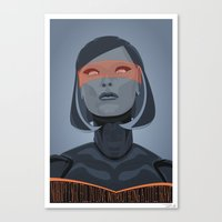 Spectr.es: EDI Canvas Print