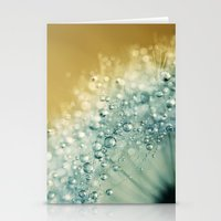 Ocean Blue Dandy Sparkle… Stationery Cards