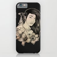 iPhone & iPod Case featuring Plague Witch by AfterDeath