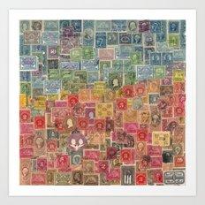 Post History of America Art Print