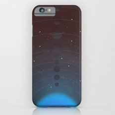 Halftone Blue Star iPhone 6s Slim Case