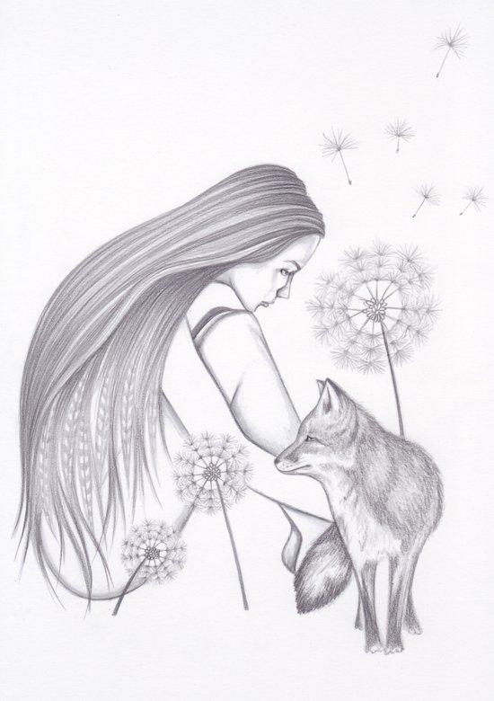 Dandelion Daze Art Print