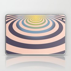 Circle around asymmetrically - Optical game Laptop & iPad Skin