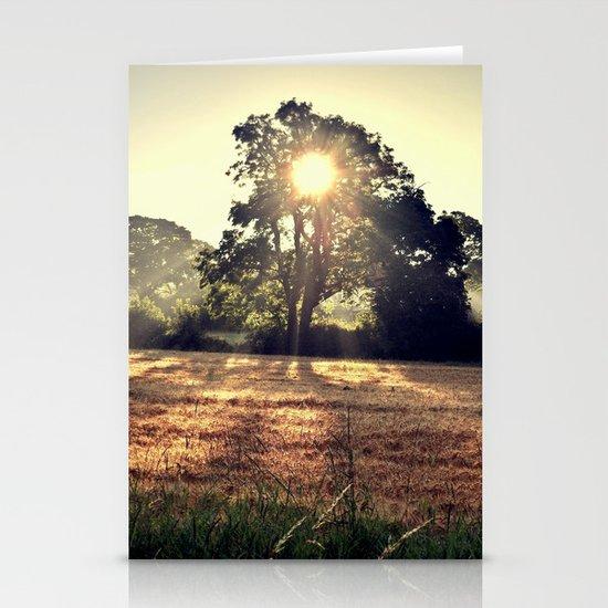 Sun Beam Stationery Card