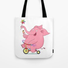 Wheee! Tote Bag