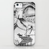 iPhone 5c Cases featuring Fly Fishing  by CreaturesStudio
