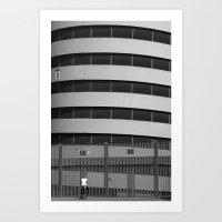 Bici A San Siro Art Print