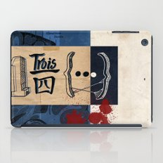one and three quarters of things iPad Case