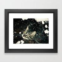 Intrigued  Framed Art Print