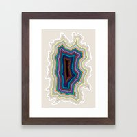The Abyss Framed Art Print