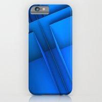 Clean Lines (Blue) iPhone 6 Slim Case