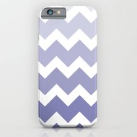 Chevron - Multi Blue iPhone 6 Slim Case