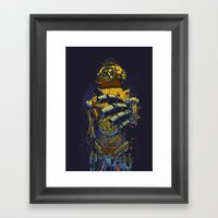 Deep Diver Framed Art Print