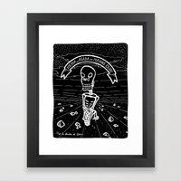 ¨Atada¨ Framed Art Print