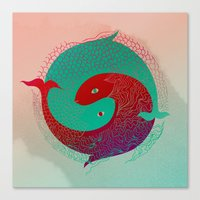 Year Of The Fish Canvas Print