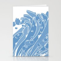 The Ocean Is Alive Stationery Cards