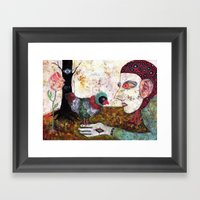 Secret Place III Framed Art Print