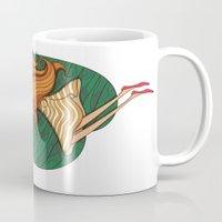 Girl And Fish Mug