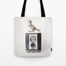 The Dinosaur and The Brownie Tote Bag