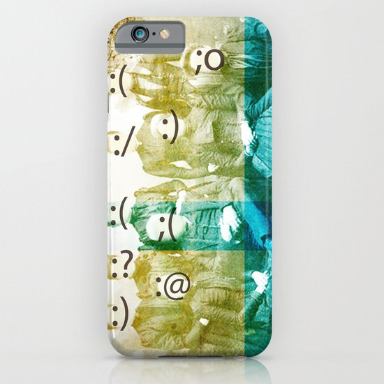the semicolon sisters iPhone & iPod Case