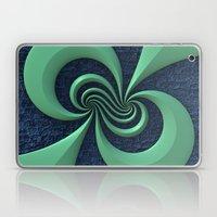 Green on Blue Laptop & iPad Skin