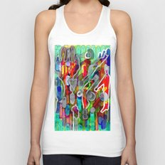 Finger's city Unisex Tank Top