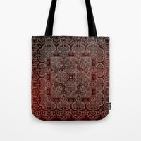 Silvery Doodle Tote Bag