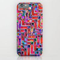 iPhone & iPod Case featuring Pixel Repeat no.2 by athomahawk
