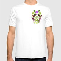 Talking To My Twin Mens Fitted Tee White SMALL