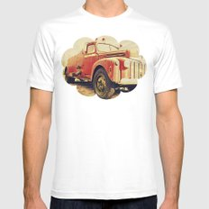 Full Truck Heroes Never Die.  Mens Fitted Tee White SMALL