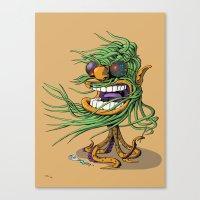 Hey Mr. Spaceman! Canvas Print