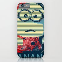 iPhone & iPod Case featuring Minion banana by kelpie