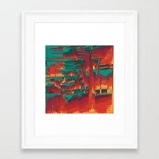 scrtlvl Framed Art Print