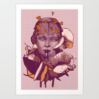 Mythical Evolution Art Print