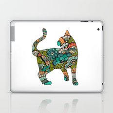 Vegetarian cat Laptop & iPad Skin