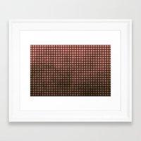 Royal Scarlet - Textured… Framed Art Print