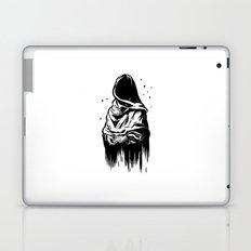 Time (Black and White) Laptop & iPad Skin