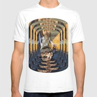 Psychoactive Bear 1 Mens Fitted Tee White SMALL