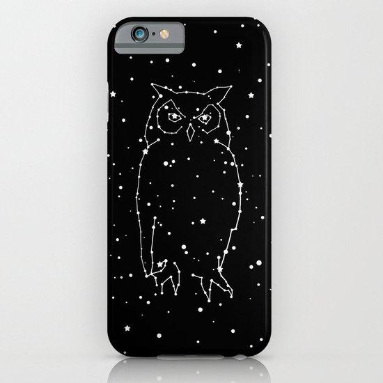 Owl Constellation  iPhone & iPod Case