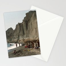 Eros Beach, Santorini Stationery Cards