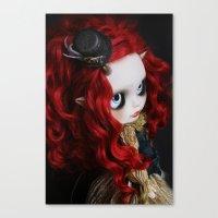 STEAMPUNK (Ooak  BLYTHE … Canvas Print