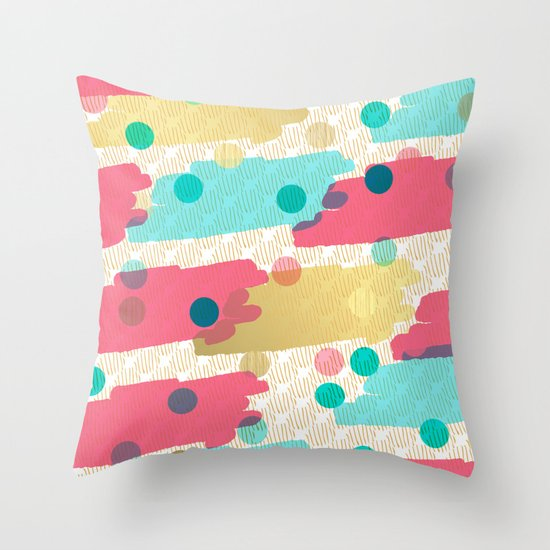 Hit Me Up! Throw Pillow