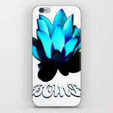 Lotus Flower Bomb iPhone & iPod Skin