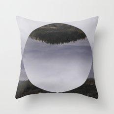 Nowhere Throw Pillow