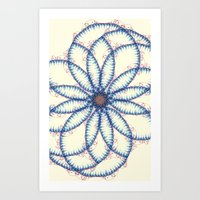 Cellclone Nebula  Art Print