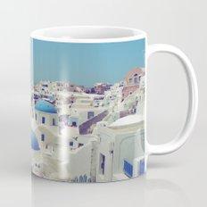 Blue Domes II, Oia, Santorini, Greece Mug