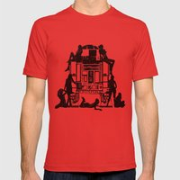 Oh R2! Mens Fitted Tee Red SMALL
