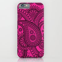 iPhone & iPod Case featuring Paisley Pink by Addington Blythe/Legion XXI
