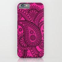 Paisley Pink iPhone 6 Slim Case
